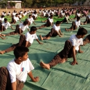 International Yoga Day marked a fitting celebration at the campus